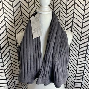 🔸 Lululemon rejuvenate scarf HMOW moonwalk NWT